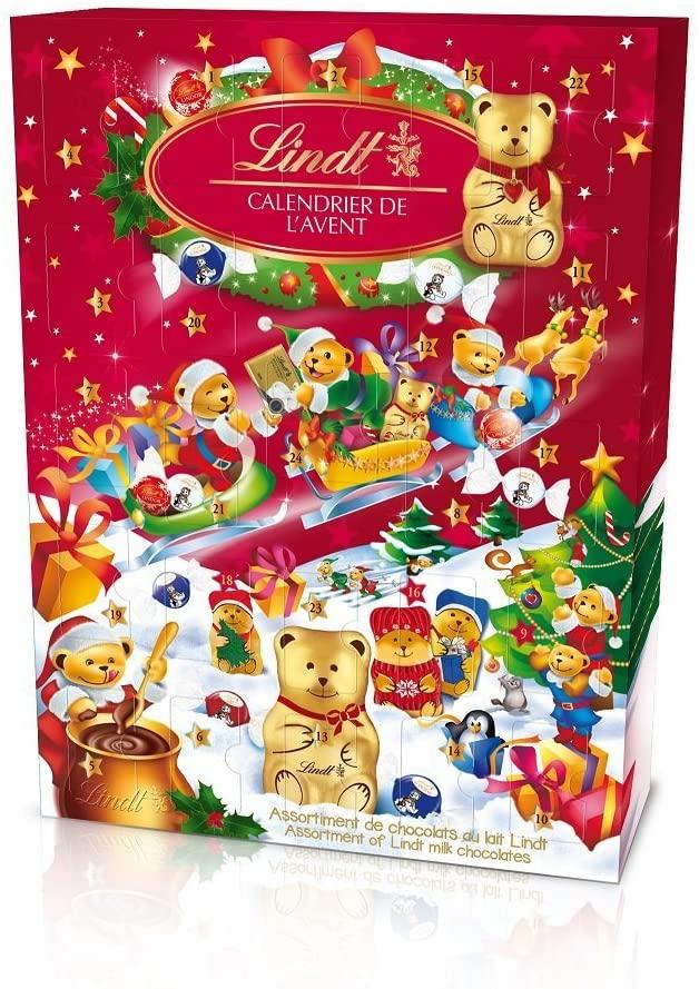 Lindt : Calendrier de l'avent du chocolat