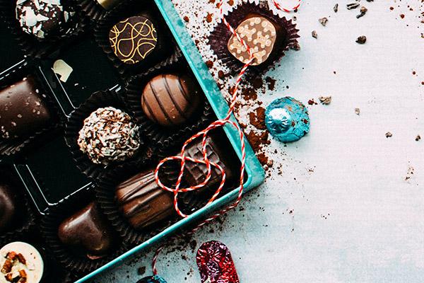 Calendrier de l'avent Coffret Chocolat