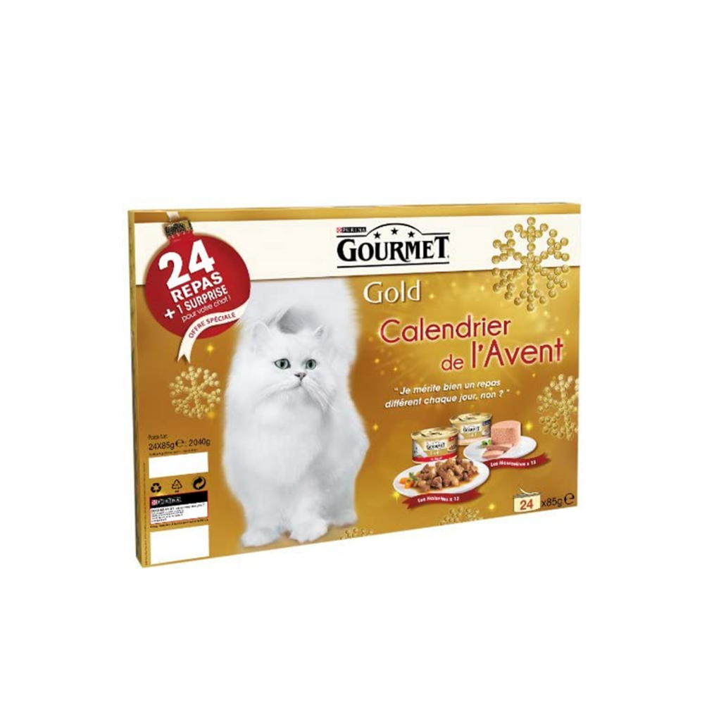 calendrier avent chat Gourmet