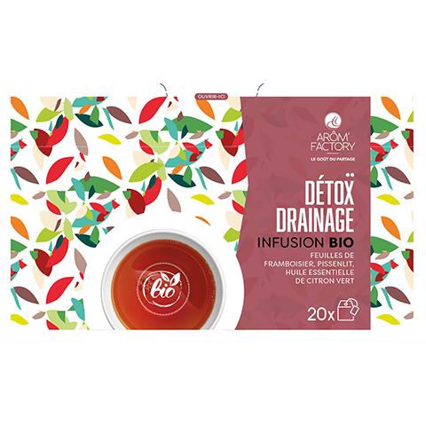 Calendrier de l'avent 100% thé d'Arôme'Factory