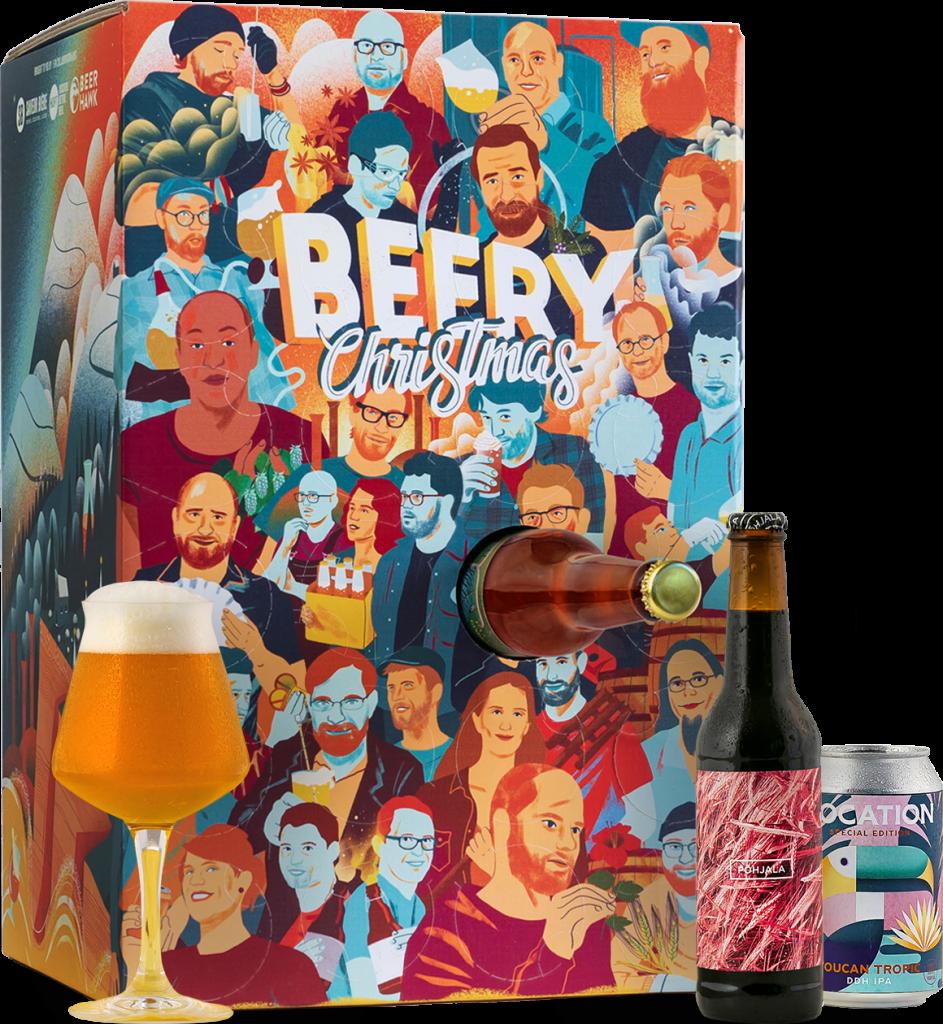 Calendrier de l'avent de la bière Beery Chistmas 2021