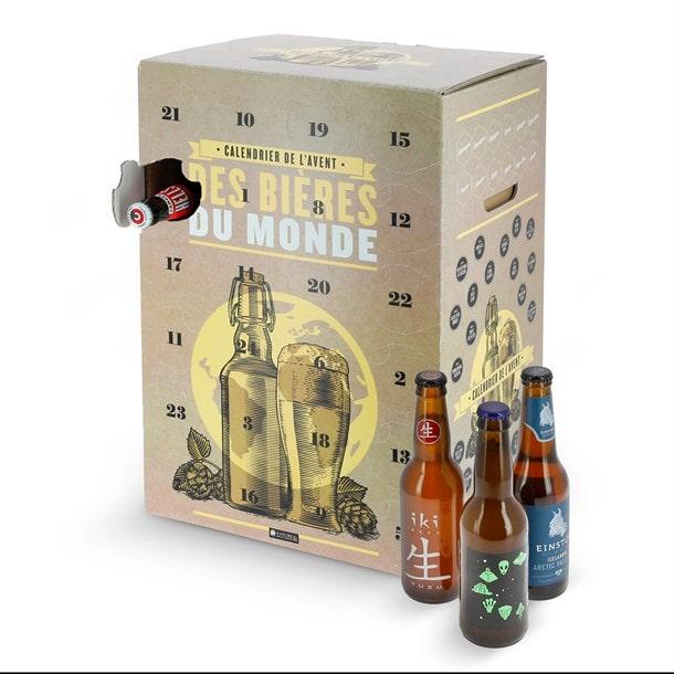 calendrier de l'avent bières du monde de Nature et découverte