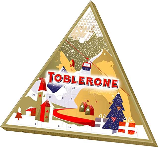 calendrier de l'avent Toblerone